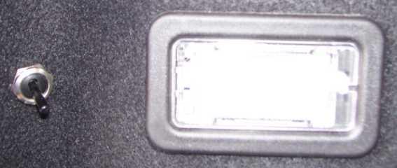 Kofferbak verlichting dacia ( lodgy,logan mcv ,... ) onderdelen